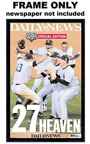 Newspaper Cover (The Daily News - Front Page Wrap - New York Yankees Newspaper Frame)
