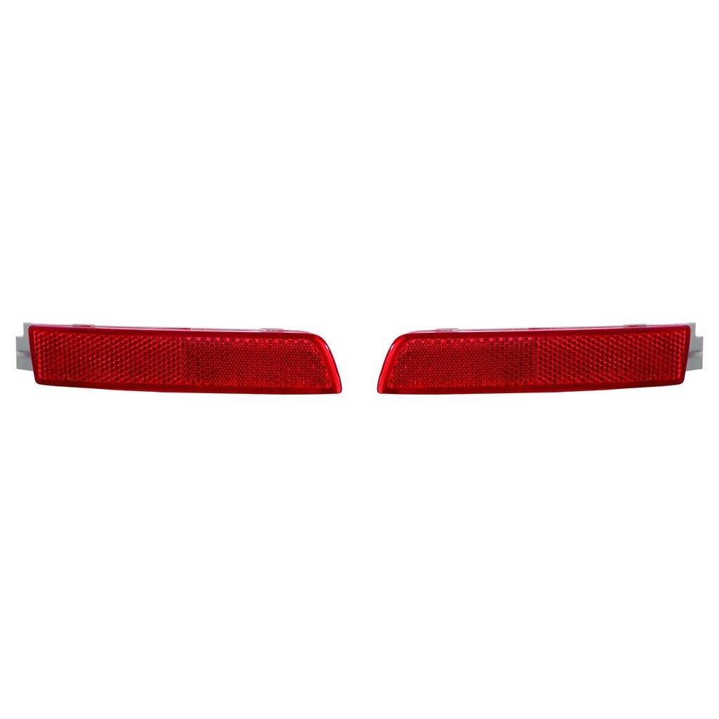 日産セントラ2013 – 15 / Juke /クエスト2011 – 15 ( Juke 2015 Nismo。Nismo Rsモデル) /ムラーノCrossカブリオレ2011 – 14 /ムラーノ背面Reflectorペアドライバーと助手席側( NSF認証ni1184100、ni1185100 B077BKDTP8