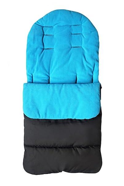 Baby Universal Stroller Liner cosytoes Saco de dormir Soft warm Sleeping Bag Snuggly acolchado Cosy Toes para la mayoría de las Sillas de paseo: Amazon.es: ...