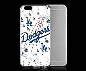 Light weight with strong PC plastic case for iPhone 4 4s Sports & Collegiate MLB Los Angeles Dodgers Los Angeles Dodgers White Primary Logo Blast