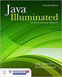 Java Illuminated, 5th Edition by Anderson