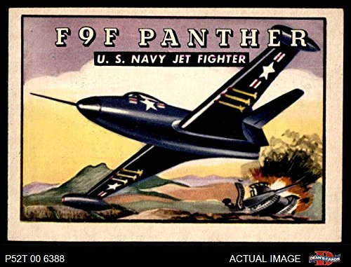 (1952 Topps Wings # 100 F9F Panther (Card) Dean's Cards 5 - EX 3219849)