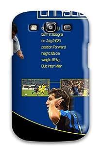 New Arrival Galaxy S3 Case Cristian Vieri Case Cover