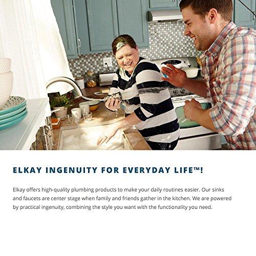 Elkay ELUH1511 Single Bowl Undermount Stainless Bathroom Sink