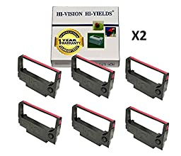 HI-VISION HI-YIELDS Compatible Ink Cartridge Replacement for Epson ERC-30 ( Black , 12-Pack )