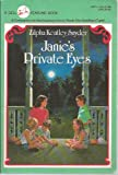 Janie's Private Eyes, Zilpha Keatley Snyder, 0440402794