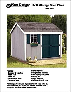 Tool Shed Plans Lean To Roof Style Shed Plans 6 X 8 Plans Design