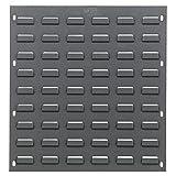 Louvered Panel, 18'' x 19'', Gray