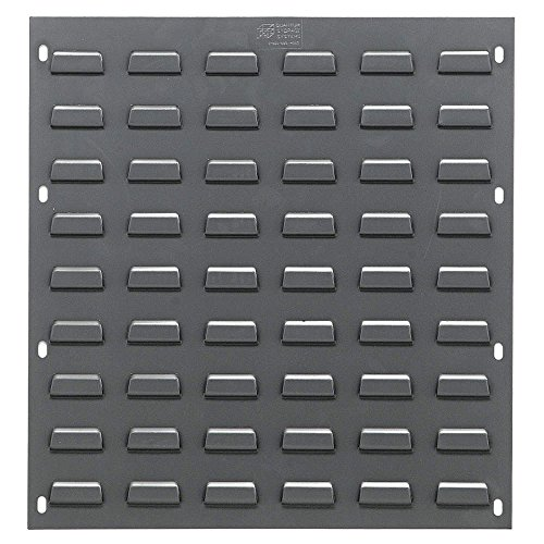Louvered Panel, 18'' x 19'', Gray by Quantum
