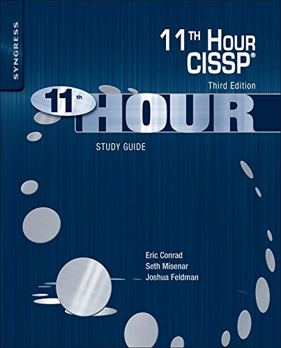 Pdf Technology Eleventh Hour CISSP®: Study Guide