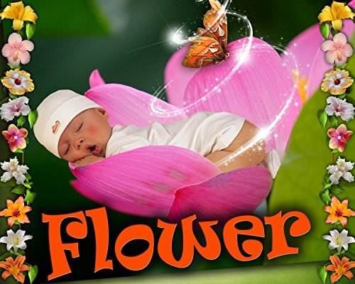 C2 Flower Children Digital Photo Backgrounds templates Backdrops Kids Baby Props