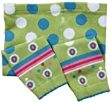 Jefferies Socks Little Girls'  Retro Capri, Lime, 2-4