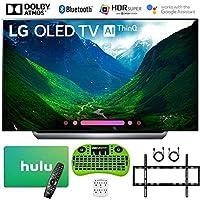 "LG OLED65C8 OLED 65C8 OLED65C8PUA 65"" C8 OLED 4K HDR AI Smart TV (2018 Model) Bonus Hulu $100 Gift Card + Wall Mount Kit More"