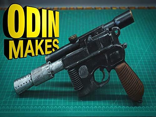 Odin Makes Han Solo's Blaster From Star Wars (Solo Foam)