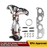 Nissan Altima 2.5L 2007-2013 Catalytic Converter Exhaust Manifold 4-Cylinder High Flow Cats 674-933 (OE Replace:14002-JA91E)