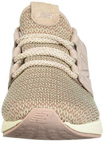 New Balance Women's Cruz V2 Fresh Foam Running Shoe Faded Birch/au Lait/Alabaster 5 B US by New Balance (Image #4)