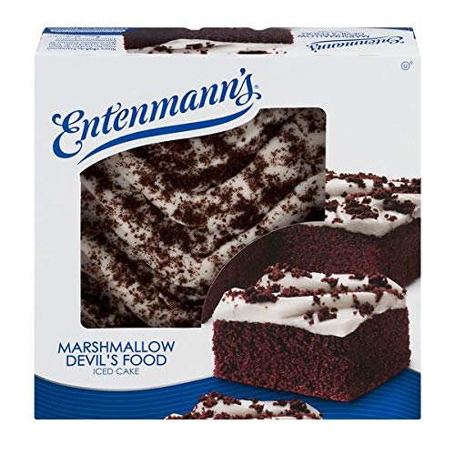 Entenmann's Marshmallow Devil's Food Iced Cake 19 oz - 1 Box by Entenmann's