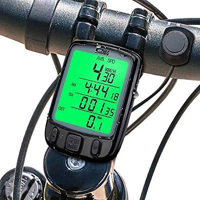 QYLT Inalámbrico Velocímetro para Bicicleta, Impermeable ...