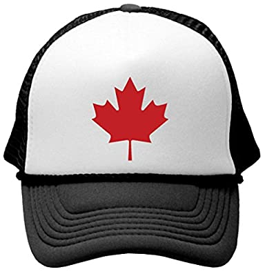 CANADIAN MAPLE LEAF - Unisex Adult Trucker Cap Hat