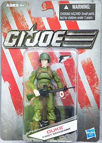 G.I. Joe Exclusive Action Figure, Duke First Sergeant, Green Outfit Variant -