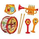 Daniel Tiger's Neighborhood Musical Instrument Playset, Multicolor