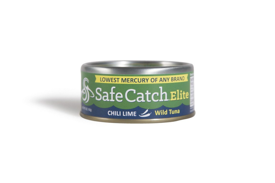 SAFE CATCH, Tuna, Elite Wild, Chili Lme, Pack of 6, Size 5 OZ, (Gluten Free Wheat Free)