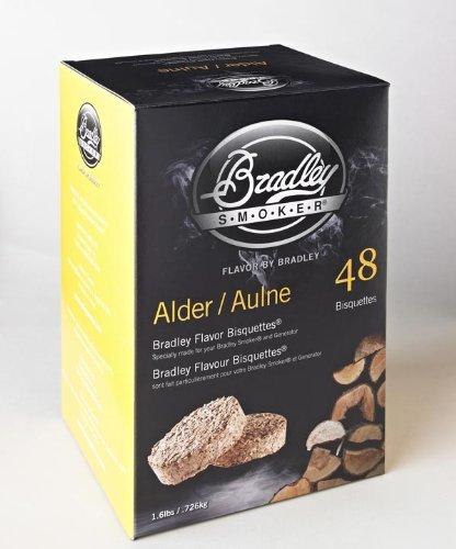 r Bisquettes – Box 48 - Alder (Bradley Smoker Alder Bisquettes)