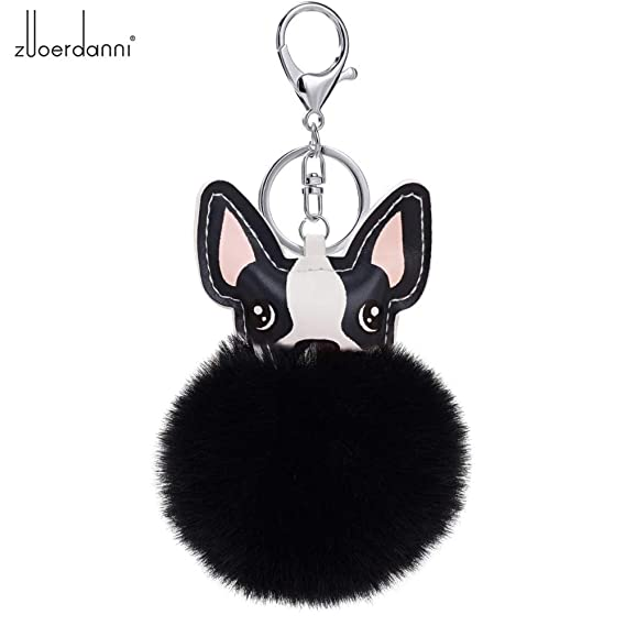 Amazon.com: 2018 Fashion Women Bag Drap Fluffy Rabbit Fur Ball ...