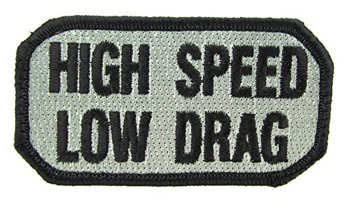 - HIGH Speed Low Drag Morale Patch (ACU Foliage Green)