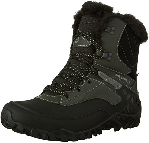 Black UK High Hiking Waterproof US EU 8 41 Women's 10 8 Shoes Rise Black Fluorecein Shell Merrell nT147f