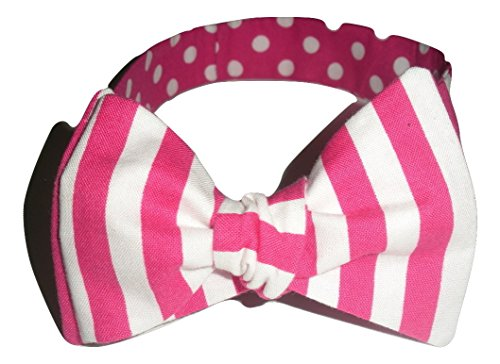 Dijano Bows Men's Bubble Wrapper Extra Large Pink And ()
