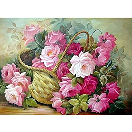 Buy round diamond painting cross stitch kits diy 5d diamond painting  embroidery butterflies play magnolia diamond mosaic home decor Online at  Low Prices in ... 6d11dc304cf82