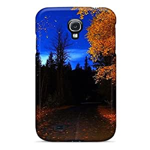 AshnleyFryers Fashion Protective Autumn Colors Case Cover For Galaxy S4