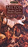 img - for Paradise Lost and Paradise Regained (Signet Classics) book / textbook / text book