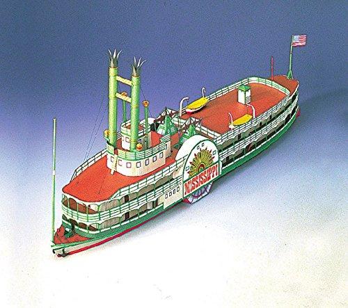 Kit Model Mississippi (Schreiber-Bogen Mississippi Steamboat Card Model)