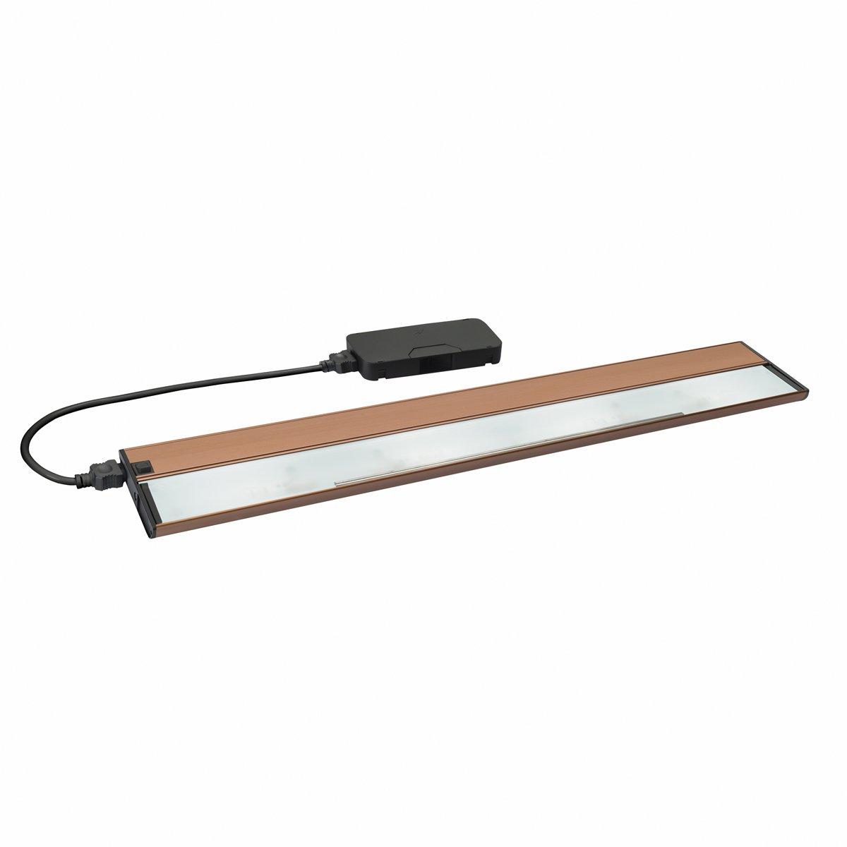 Kichler  10585BRZ Four Light Cabinet Strip//Bar Light Kichler Lighting