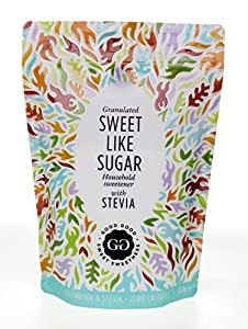 Sweet Like Sugar by Good Good - Natural Sweetener with Stevia, 16 oz (450 gr) - Natural Sugar Substitute Zero Calorie Sweetener