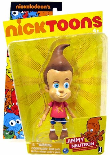 Nicktoons Jimmy Neutron 6 Inch Articulated Action Figure - Jimmy