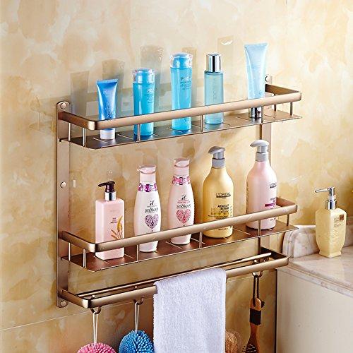 Bathroom racks/space aluminium towel rail/the shelf in the bathroom/Wall mounted Towel rack-K outlet