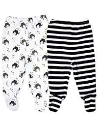 Organic Cotton Baby Pants Footed GOTS Certified Clothes
