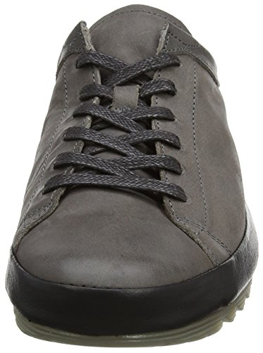 FLY London Mato738fly, Zapatos de Cordones Derby para Hombre Gris (Grey Black)