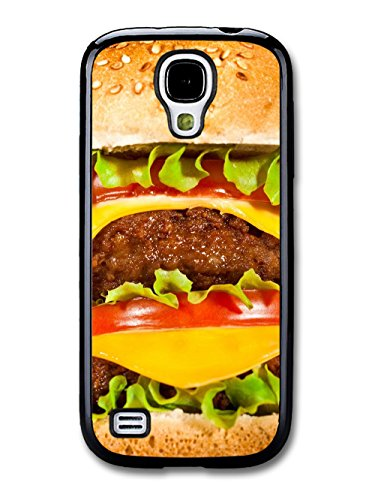 Food Fatty Burger with Meat Cheese Tomato Salad Funny coque pour Samsung Galaxy S4 mini