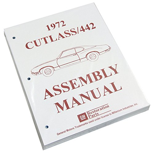 Inline Tube (I-3-4) Factory Assembly Manual for 1972 Oldsmobile Cutlass / 442