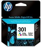 HP 301 - Cartucho de tinta original (amarillo, cian, magenta)