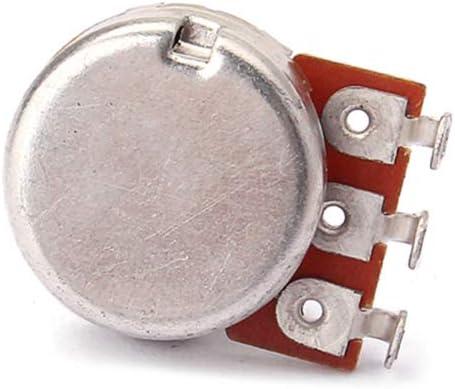 SUPVOX Potentiom/ètres de guitare Shaft A100K Split Shaft Pot incurv/é long contr/ôle de volume et de tonalit/é molet/é pour accessoire de guitare