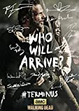 the walking dead season 5 poster - The Walking Dead Season 5 Terminus Tv Print (11.7 X 8.3) Andrew Lincoln Norman Reedus David Morrissey Danai Gurira Steven Yeun Daryl Dixon