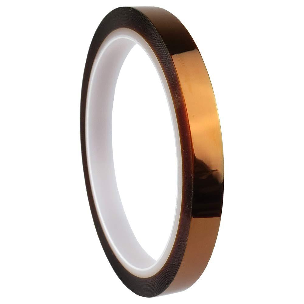 3mm 2cm X 30M 100ft Kapton Tape High Temperature Heat Resistant Polyimide