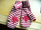 Canada Olympic RED MITTS Mittens HBC Adult S/M Size Gloves 2013 Version