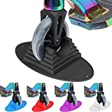 VOKUL Scooter Stand Parking | Universal Pro Kick Scooter Holder Stand fit Most Scooters for 95mm -125mm Scooter Wheels – Multiple Scooters, Stable Base,Organize Scooters, Works Perfect