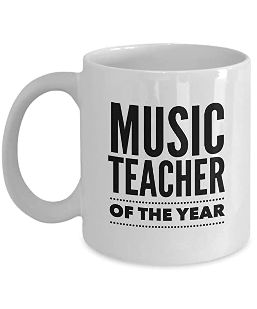Amazoncom Music Teacher Coffee Mug Music Teacher Of The